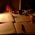 Photos: ホームステイ時の勉強机