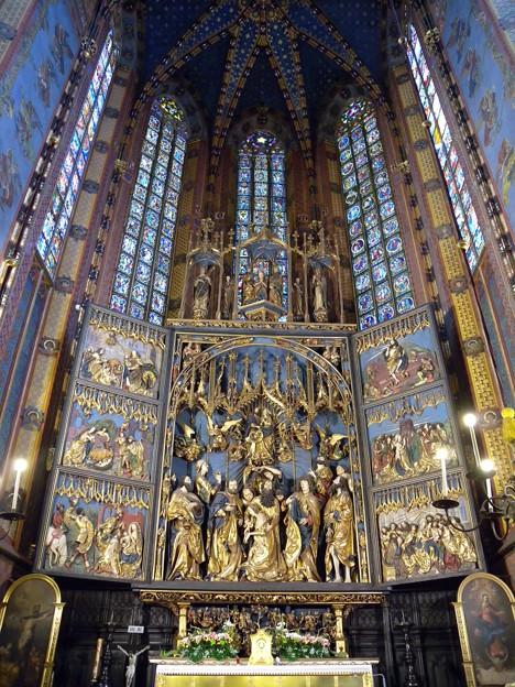 ポーランド クラクフ 聖マリア教会1