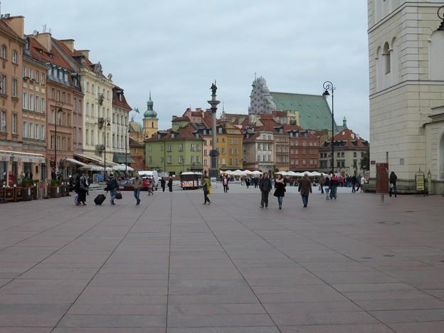 ポーランド ワルシャワ 王宮広場