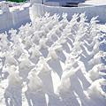 写真: サッポロさとらんど雪像(4)