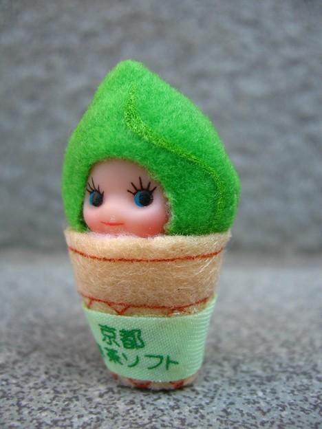 京都限定:抹茶ソフトQP☆