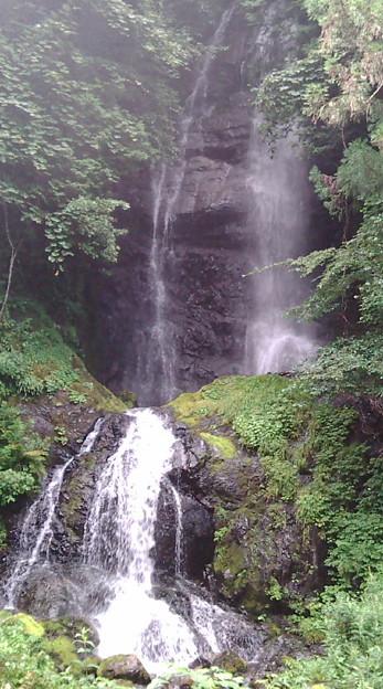 写真: 黒沢の滝