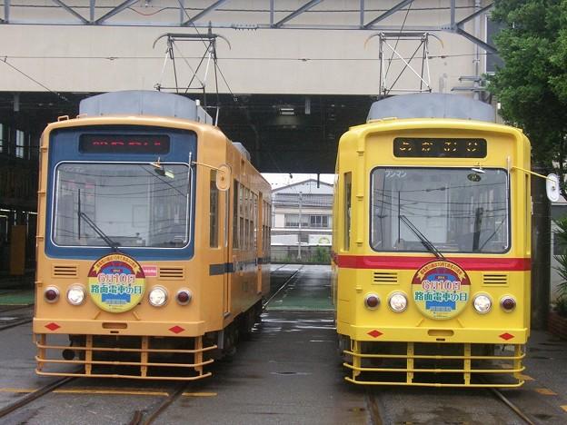 都電7000系 7001&7022 都電の日HM