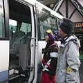 Photos: スキー場送迎バス