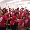 Jaunty Flamingos 2008
