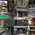 写真: 高野山への道