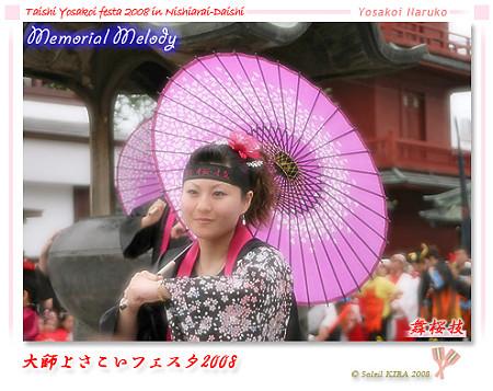 舞桜技_大師よさこいフェスタ2008