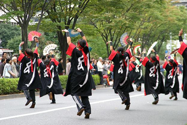 写真: チーム幻_荒川よさこい-04