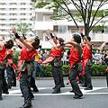 写真: 酔来亭セピア_荒川よさこい-08