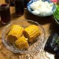 Photos: おばあちゃん、好きだったトウモロコシだよ( ´・ω・`)