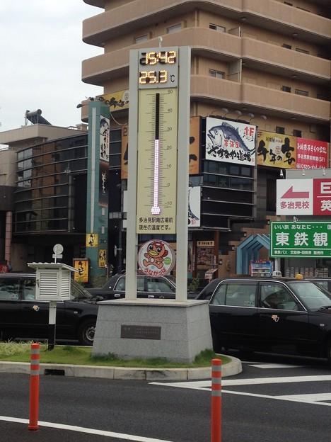 多治見駅南口_08:温度計