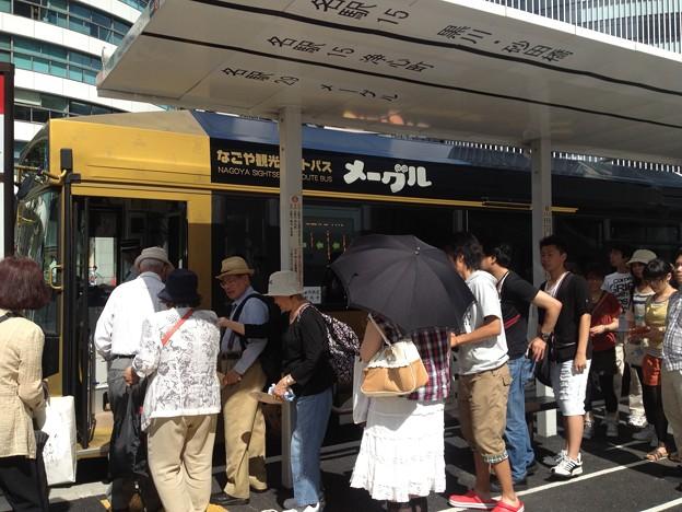 なごや観光ルートバス「メーグル」_03:『名古屋駅』停留所