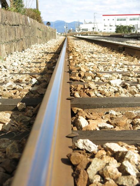 鉄路の向こう