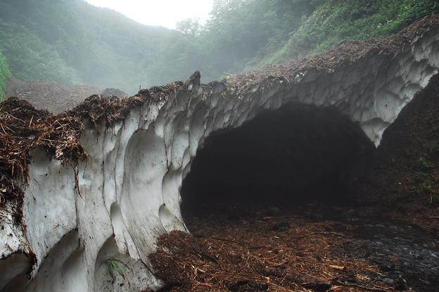 西興部村 氷のトンネル 2 - 写真共有サイト「フォト蔵」