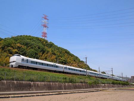 683系サンダーバード 東海道本線島本~高槻
