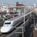 写真: 700系ひかり 東海道本線京都~新大阪02