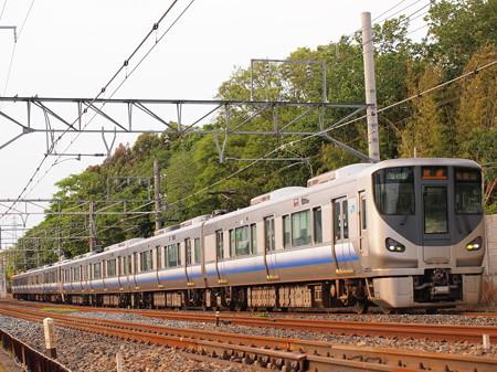 225系快速 阪和線杉本町~浅香
