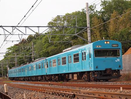103系普通 阪和線杉本町~浅香02