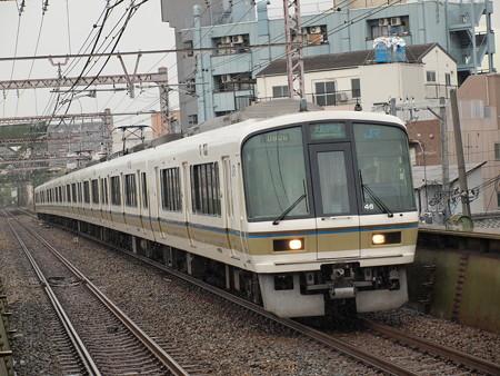 221系大和路快速 大阪環状線大正駅