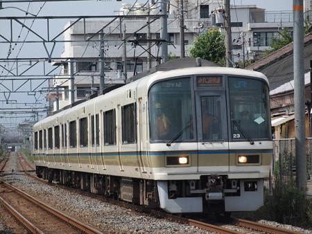 221系みやこ路快速 奈良線東福寺~稲荷