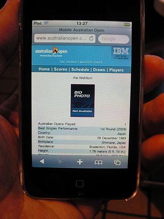 iPod Touch+モバイルルーター