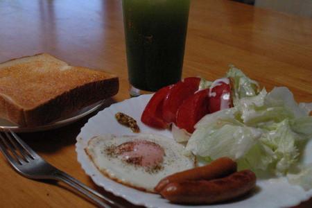 休日の朝食