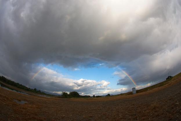 虹と青空ホール
