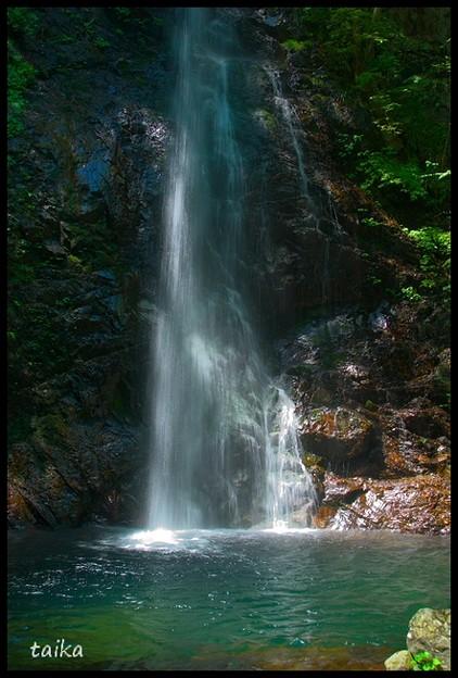 Photos: 奥多摩払沢渓谷払沢の滝