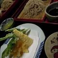 Photos: 大もりそばと天ぷら