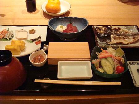 朝食@修善寺_対山荘