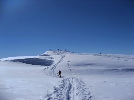 雪の立山(5) 銀世界