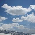 写真: 立山連峰 雲