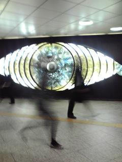 写真: 新宿の目