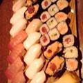 写真: 寿司食べ放題