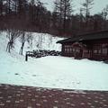 写真: 雪少し