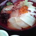 写真: そば三昧、海鮮丼1