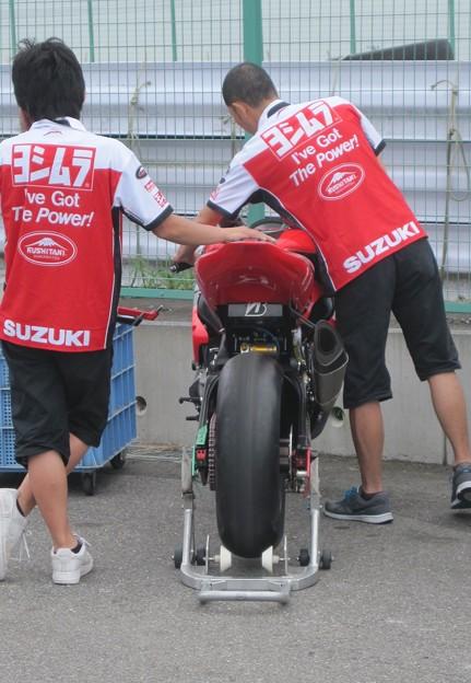 写真: 32 2013 12 津田 拓也 ヨシムラスズキレーシングチーム GSX_R1000 IMG_1936