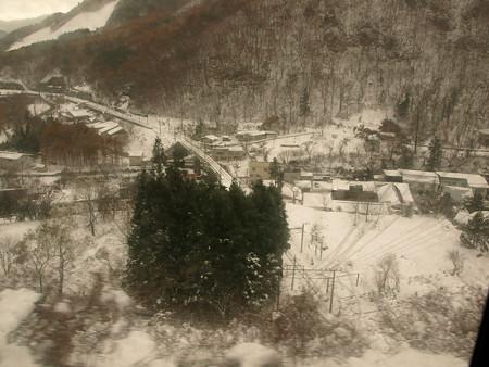 115系車窓(土合→湯檜曽駅間)