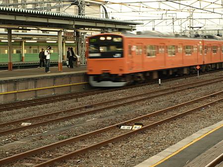 201系青梅線(拝島駅)
