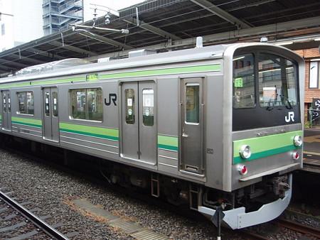 205系横浜線(町田駅2番線)