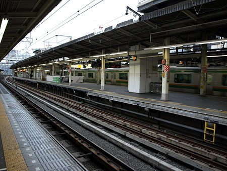 横浜駅9番線