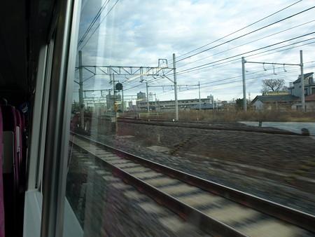 湘南新宿ライングリーン車1階の車窓(赤羽出発後)