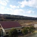 写真: 吾妻線の車窓(小野上温泉付近)
