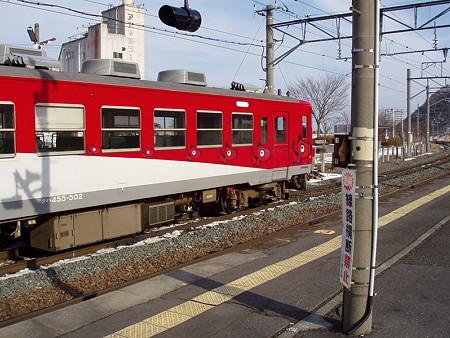 455系(磐梯熱海駅)2