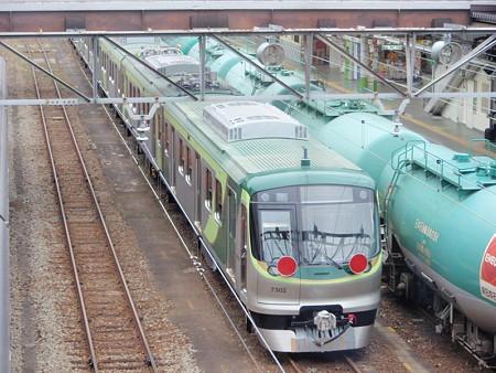 東急7000系(JR八王子駅)