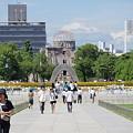 Photos: 広島平和記念公園と原爆ドーム