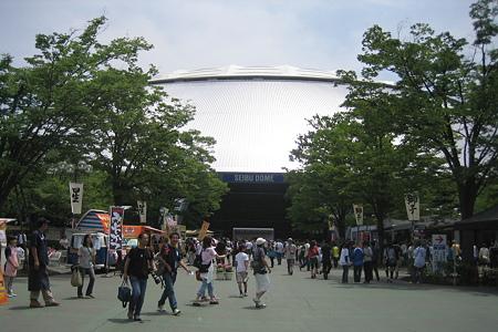 交流戦 at 西武ドーム
