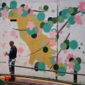 写真: 桜舞う