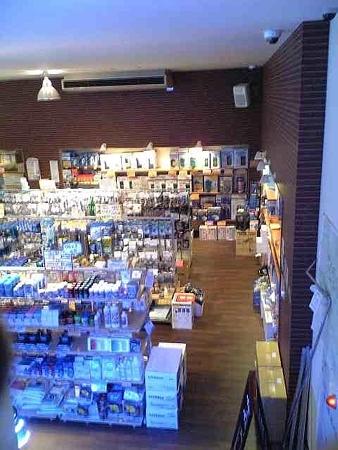 20090308 熱帯魚店の店内