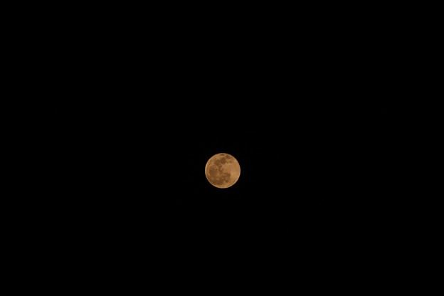 オレンジ色の月2 (色温度5000K)
